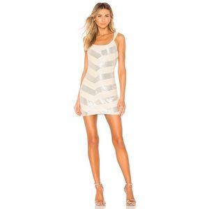 BNWT X by NBD Montserrat Beaded Mini Dress